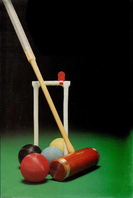 Набор для ассоциативного крокета и гольф-крокета